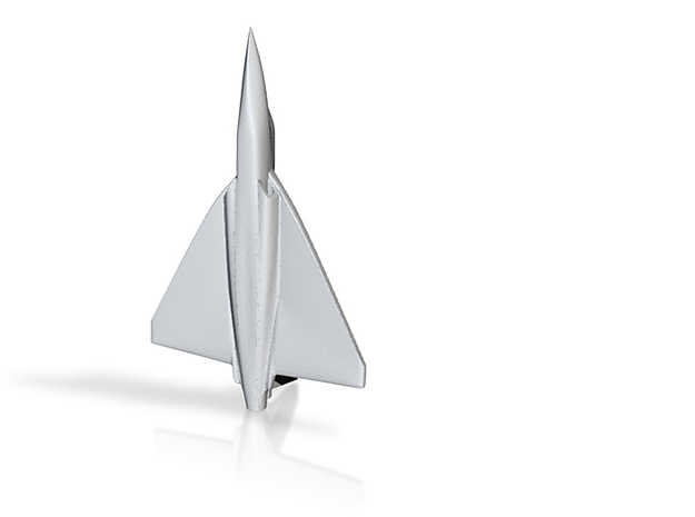 1/285 (6mm) Tejas Fighter (Indian) 3d printed