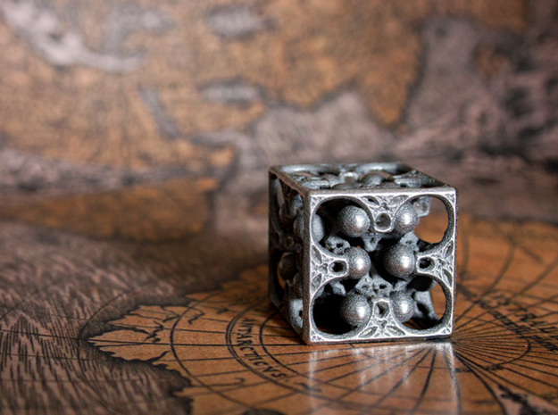 GOD's DICE 3d printed Six
