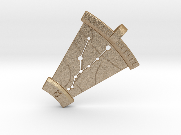 Taurus Constellation Pendant 3d printed