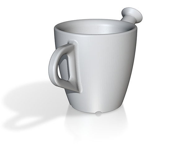 one cup a day   Day 20: Spouted Cup 3d printed