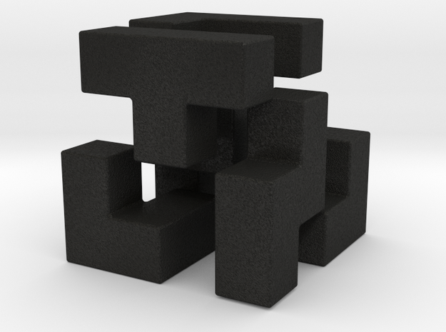 Cube Puzzle 3d printed