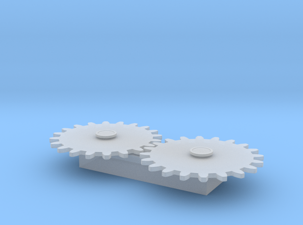 Gears Test 3d printed