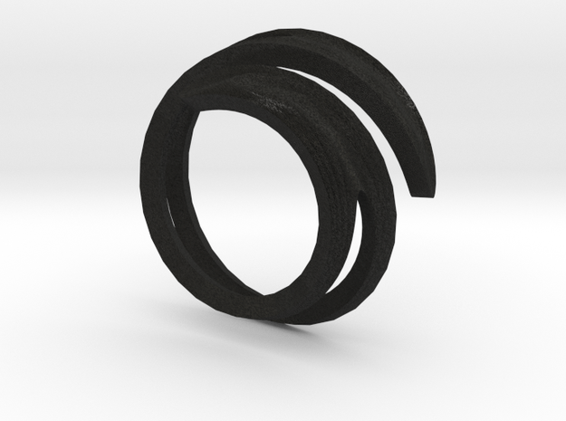 wrapped ring 3d printed