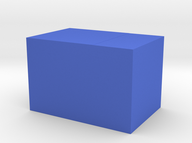 2 cubes join 3d printed