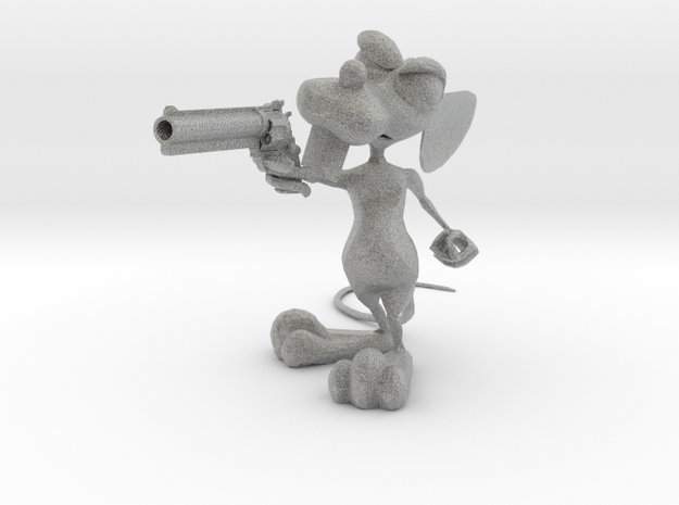 Dirty Rat -Gun v1c 3d printed