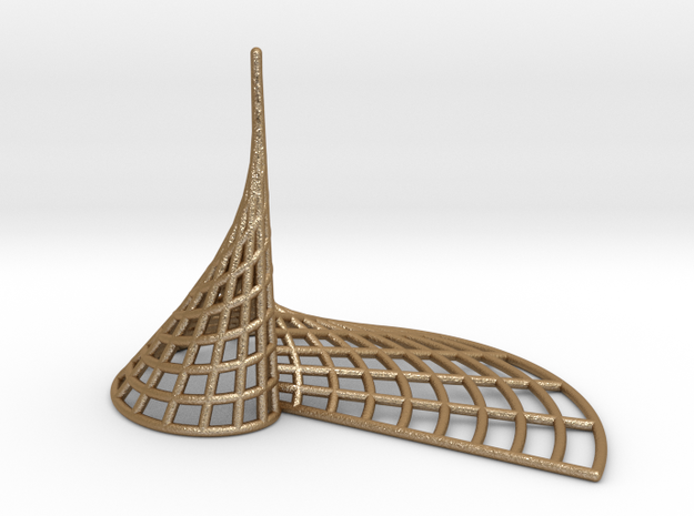 Archimedean Spire 3d printed