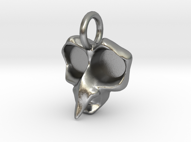 Crone Pendant -Small v1b (20% Larger) 3d printed