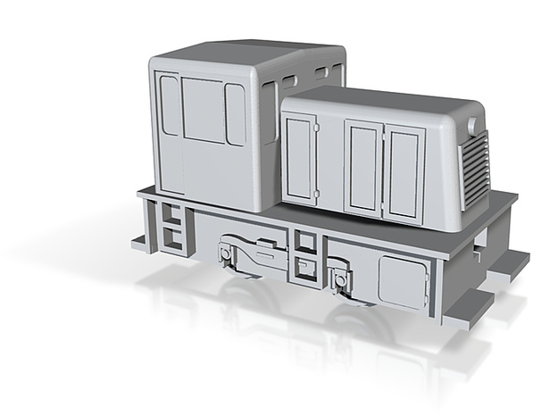 GE25T Locomotive - Z scale 3d printed