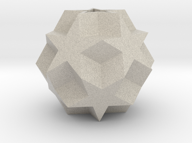 Dodecadodecahedron (re-re-upload) 3d printed