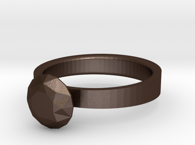 Ring - Diamond 3d printed
