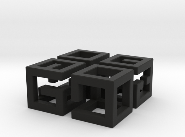 More MazeNCubes 3d printed