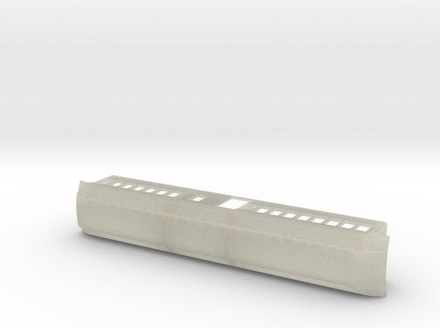 1st/2nd Baggage Car 3d printed
