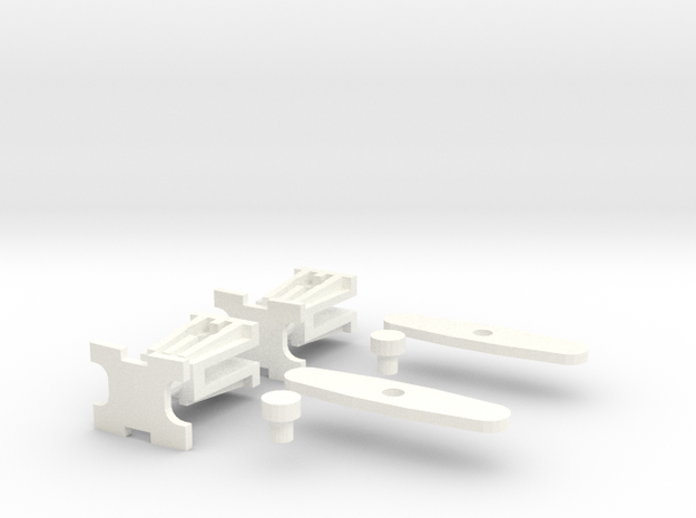 Polish Couplings 0e Scale (2 Pack) 3d printed
