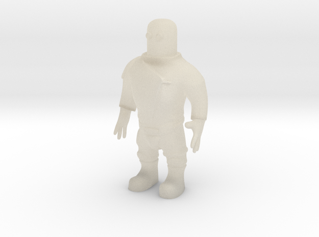 Spaceman (28mm) 3d printed