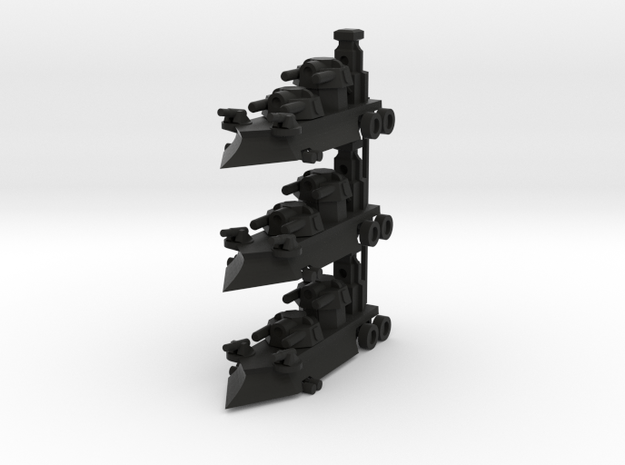 Gothic Artillery x3 3d printed