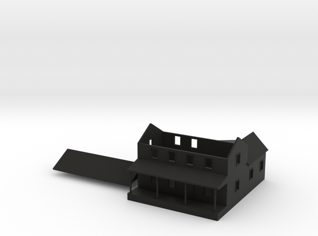 CBR Section Foreman House - Z Scale 3d printed