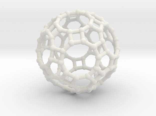 Truncated icosidodecahedron 3d printed