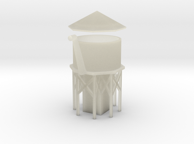 Water Tower - Z scale 3d printed