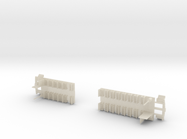 Passenger Car Interior 3d printed