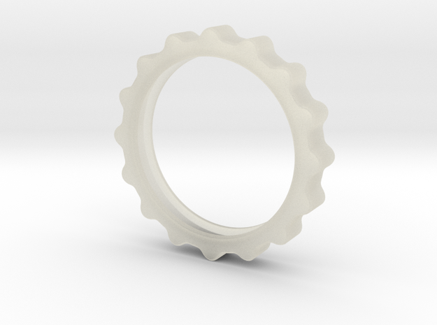 Curvy Ring 3d printed