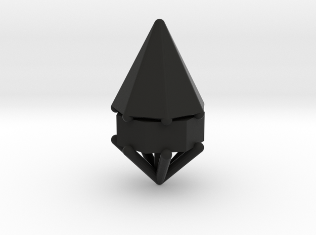 d7 cone blank 3d printed