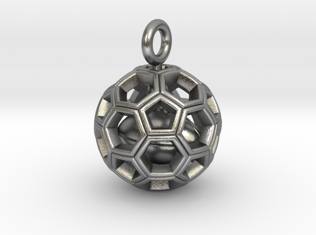 Soccer Ball with American Football Inside #1 3d printed