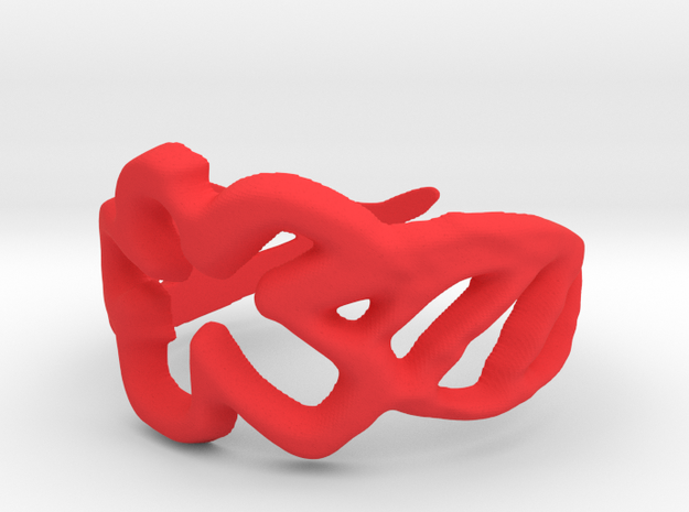 Draw your own ring 3d printed