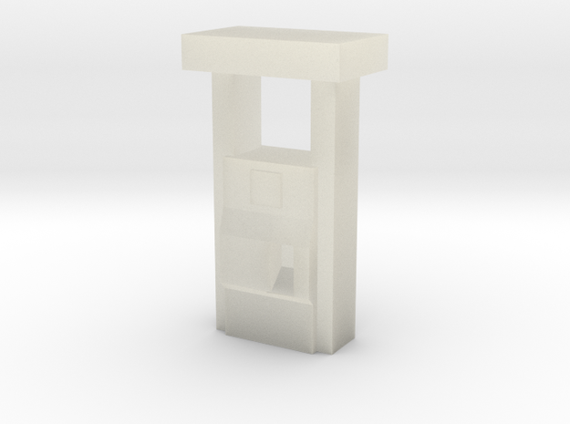 2000''s Gas Pump - Z scale 3d printed