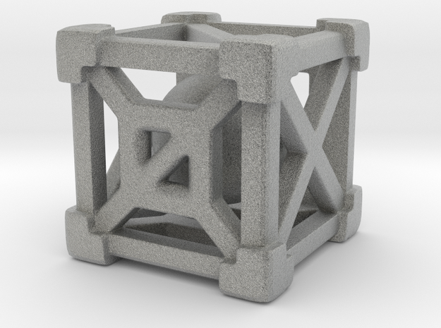 Cage 6-Sided Die - Full 3d printed