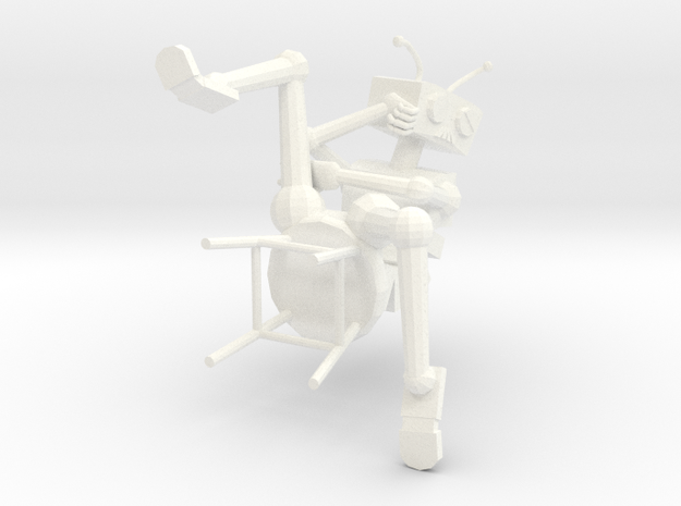 Depressed Robot 3d printed