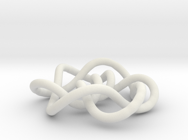 Prime Knot 9.35 3d printed