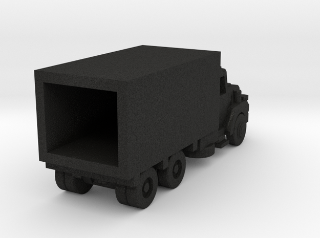 Mack Delivery Truck - Open Cab - Z scale 3d printed