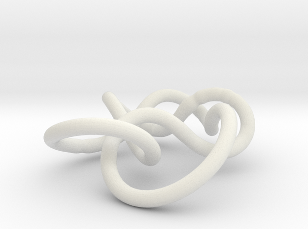 Prime Knot 6.1 3d printed