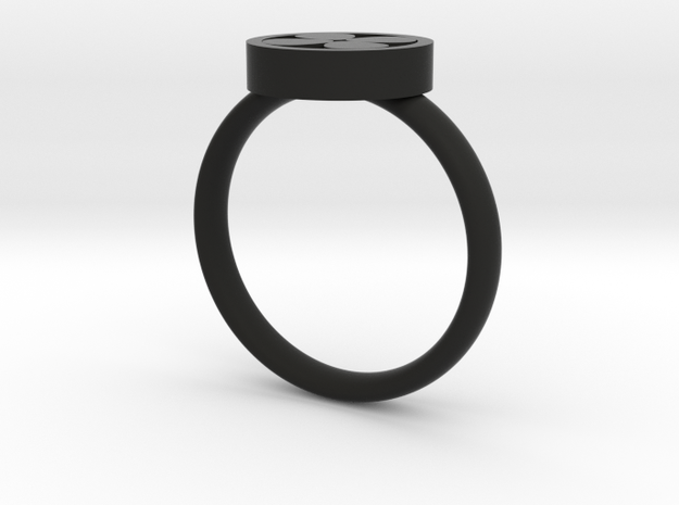 Clover Ring 3d printed