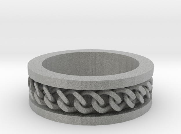Flat Chain Ring 3d printed