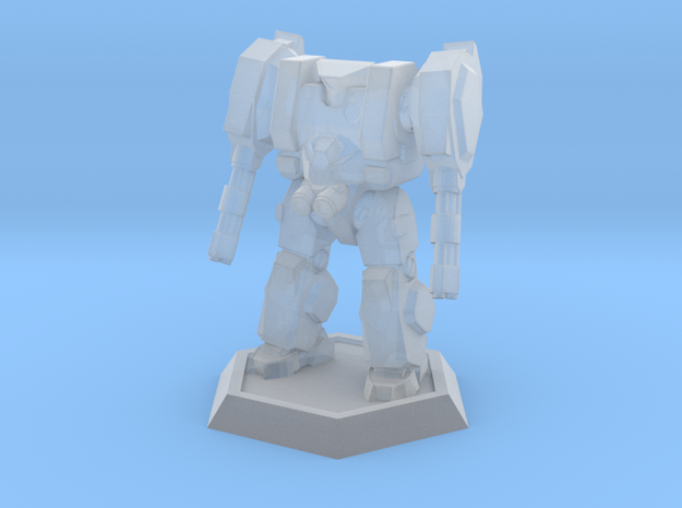 Mecha- Hunter (1/937th) 3d printed