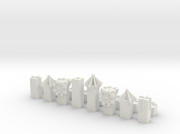Laird's SCAD Chess Set 3d printed