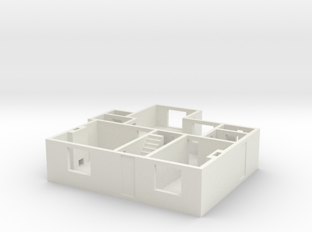 CF Ground floor 3d printed