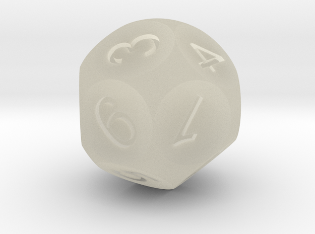 D14 Sphere Dice (1 to 7) 3d printed