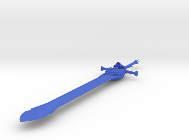 Rebellion Sword (mini) 3d printed