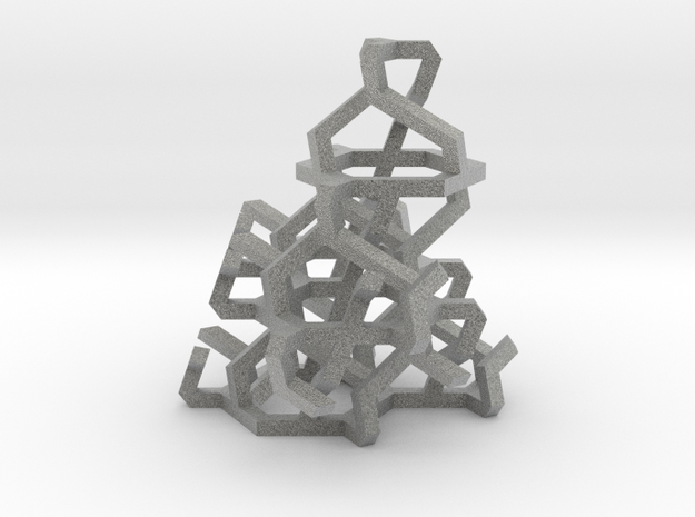 """""""Ice"""" - frosted style 3d printed"""
