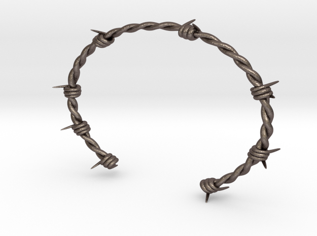 Barbed wire Bracelet 3d printed