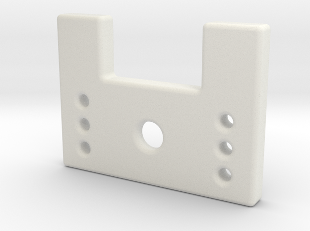 Zoybar Nut Piece 3d printed