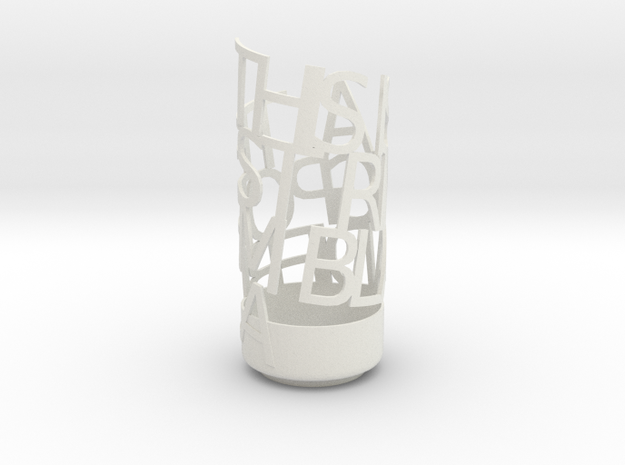 Light Poem test 1 3d printed