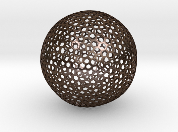 Geodesic Golf Ball (A) 3d printed