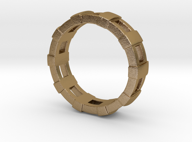 Train Tracks Ring 3d printed