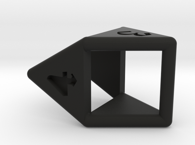 d4 double prism 3d printed