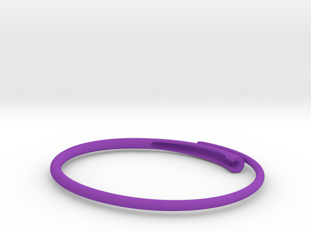 Snap bangle. 3d printed
