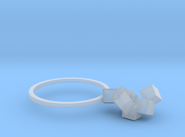 Cubes Ring 03 3d printed
