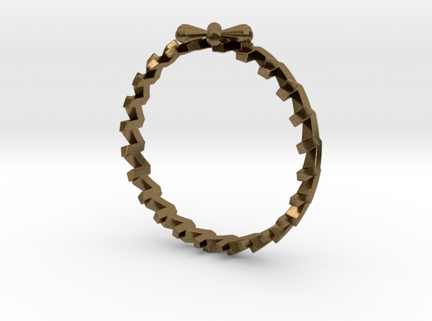 24 Caret Gold Ring (55mm) 3d printed